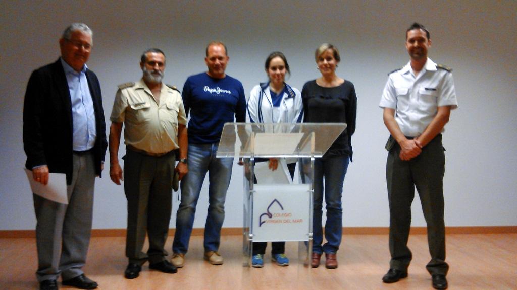 "Alumna del Colegio Virgen del Mar 2º Premio Provincial en ""Carta a un militar español"