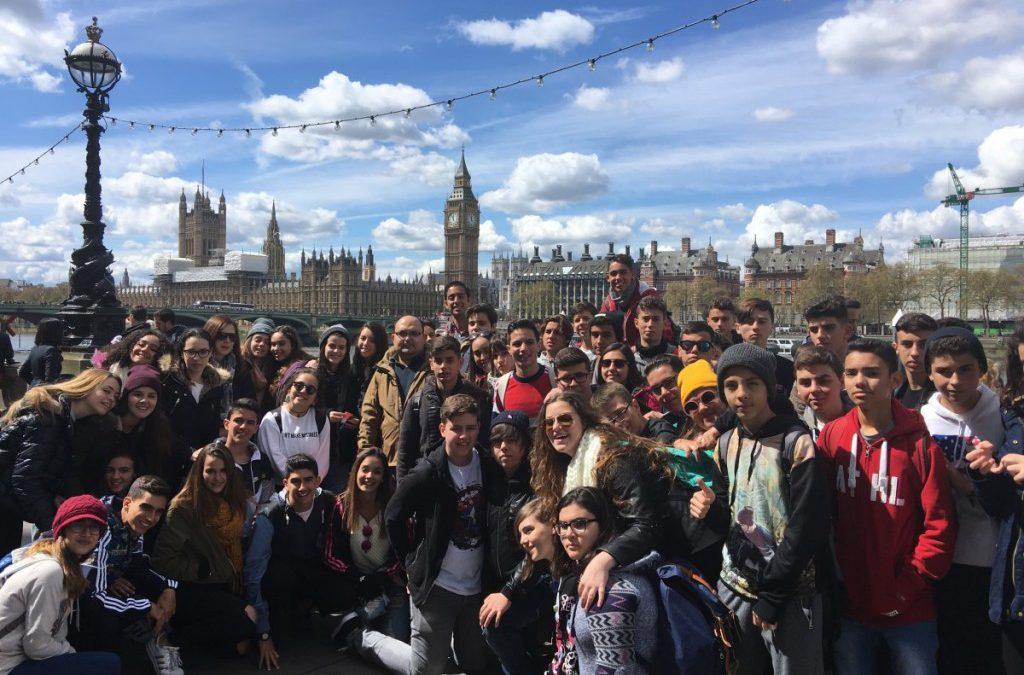 Diario de Avisos publicó una noticia sobre el viaje de nuestros alumnos a Inglaterra