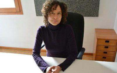 La escritora Elle Przybyla en el Virgen del Mar