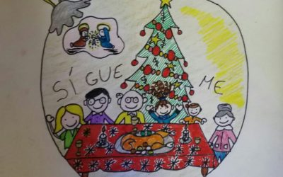 "Alumna de 5º B finalista nacional en el concurso ""Christmas de Infancia Misionera"""