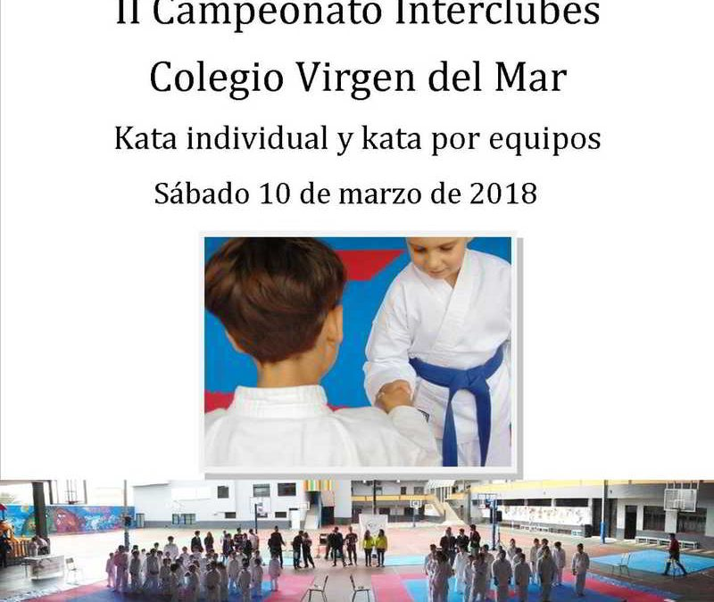 Campeonato Interclubes Karate 2018